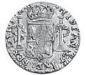 25 Paras - George III – reverse