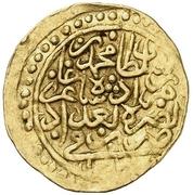 Sultani - Mehmed III – obverse