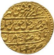 Ashrafi - Abbas III Safavi (Type A; Esfāhān mint) – obverse