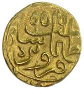 ½ Ashrafi - Tahmasb I Safavi (Qazvīn mint) – obverse