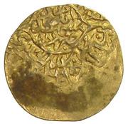½ Ashrafi - Muhammad Khudabanda (Mashhad mint) – obverse