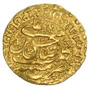 Ashrafi - Hussain ibn Sulayman Safavi (Mashhad mint) – obverse