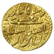 1 Tumân - Fatḥ Alī Qājār (Type W; Dar al-Ibadah Yazd mint) – obverse