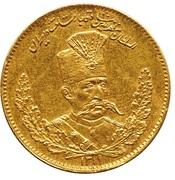 1000 Dinar - Mozaffar al-Din Qajar (Pattern) – obverse