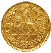 1000 Dinar - Mozaffar al-Din Qajar (Pattern) – reverse
