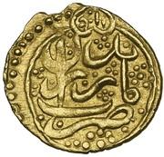 ¼ Mohur - Agha Mohammad Khan Qajar -  reverse