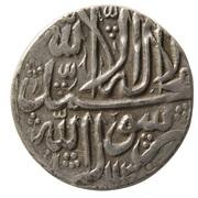 1 Abbasi - Ashraf Hotaki (Qazwin mint) – obverse