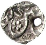 1 Bisti - Abbas I Safavi (Ganja mint) – obverse