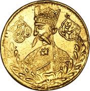 1 Tumân - Nāṣer al-Dīn Qājār (Tehran mint) -  obverse