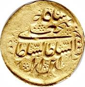 1 Tumân - Fatḥ Alī Qājār (Type W; Shīrāz mint) – obverse