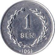 1 Sen – reverse