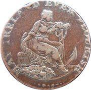 ½ Penny (Dublin - Parker's) – obverse