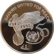 1 Pound (United Nations) – reverse