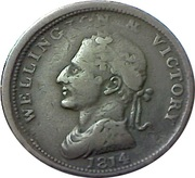 1 Penny (Wellington - Edward Bewley) – obverse
