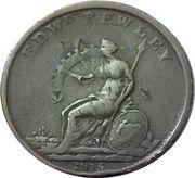 1 Penny (Wellington - Edward Bewley) – reverse