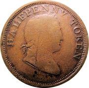 ½ Penny (Hibernicus) – obverse