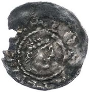 ½  Penny - John (1st Coinage) – obverse