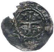 ½  Penny - John (1st Coinage) – reverse