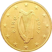 10 Euro Cent (2nd map) – obverse