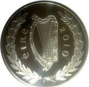 10 Euro (Gaisce) – obverse