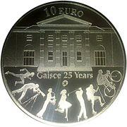 10 Euro (Gaisce) – reverse