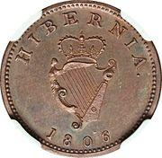 "1 Farthing - George III (Type "".D:G.REX."") – reverse"