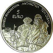 5 Euro (International Polar Year) – reverse