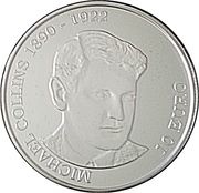 10 Euro (Michael Collins) – reverse