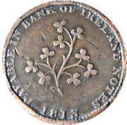 ½ Penny (Dublin - Hilles Ironmongers) – reverse