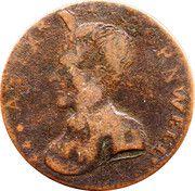 ½ Penny (Dublin - Cornwell's) – obverse