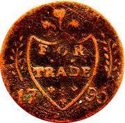 ½ Penny (Dublin - Cornwell's) – reverse