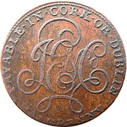 ½ Penny (Cork - J E & Co) – reverse