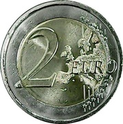2 Euro (Centenary of the 1st. Meeting of Dail Eireann) -  reverse