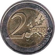 2 Euro (10 Years of EMU) – reverse