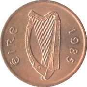 2 Pence (non-magnetic) – obverse