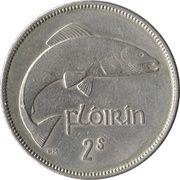 1 Flóirin / 2 Scilling -  reverse