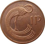 1 Penny (magnetic) -  reverse