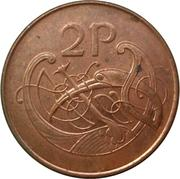 2 Pence (magnetic) – reverse