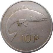 10 Pence (large type) – reverse