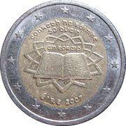 2 Euro (Treaty of Rome) -  obverse