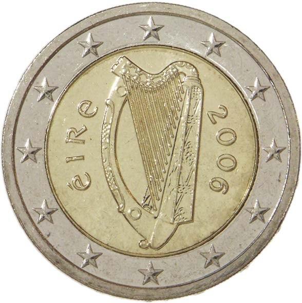 2 euros 1 re carte irlande numista. Black Bedroom Furniture Sets. Home Design Ideas
