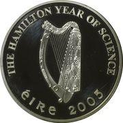 10 Euro (Sir William R. Hamilton) – obverse