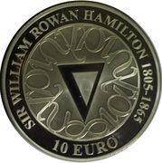 10 Euro (Sir William R. Hamilton) – reverse