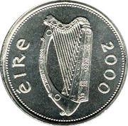 1 Pound (Millennium Punt; Silver Pattern Strike) – obverse