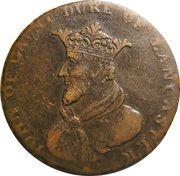 ½ Penny (Dublin - Camac Kyan and Camac / John of Gaunt) – reverse
