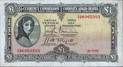 1 Pound / Punt – obverse