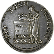 1 Shilling - 1804 -  Public Happiness – obverse