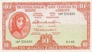 10 Shillings / Scillinge – obverse