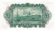1 Pound / Punt (Bank of Ireland) – reverse