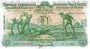 1 Pound / Punt (Hibernian Bank) – obverse